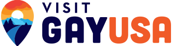 VisitGayUSA logo