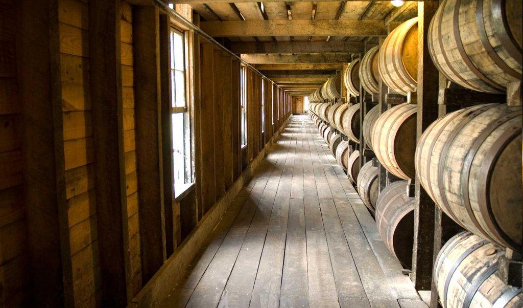 Inside a Bardstown distillery