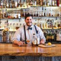 Bartender at a Lexington, Kentucky, bar